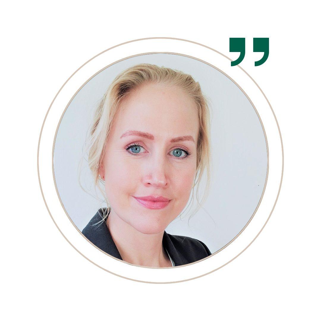 Psykologen Malene hos We.Care