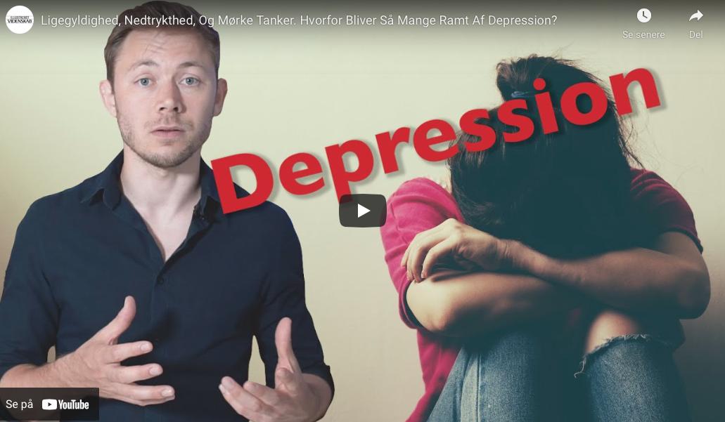 Ligegyldighed, Nedtrykthed, Og Mørke Tanker. Hvorfor Bliver Så Mange Ramt Af Depression?