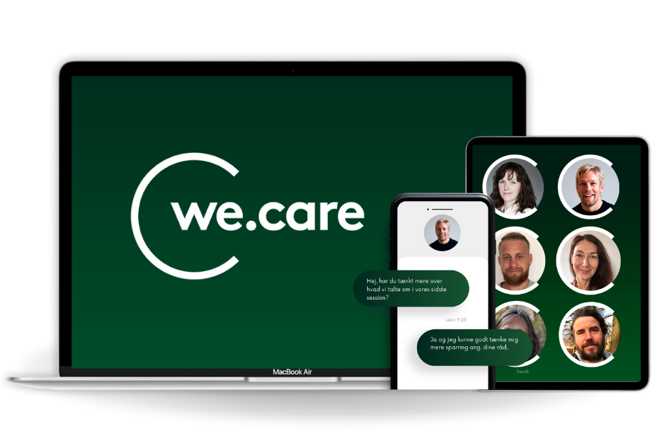Become an online psychologist at We.Care